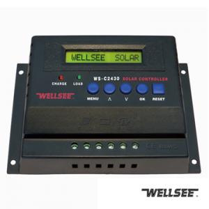 WELLSEE WS-C2430 25A 12/24V solar battery charge controller